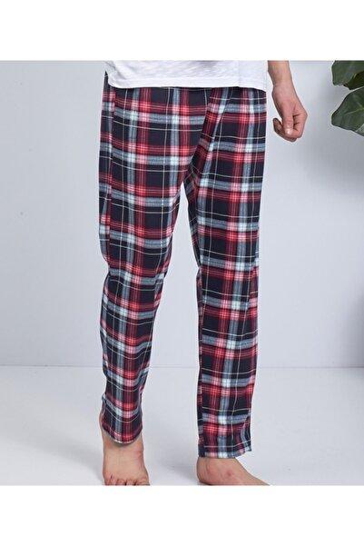 Moda Clubu Kırmzı Ekose Desen Erkek Pijama Altı