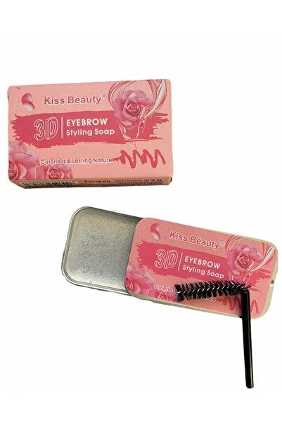 Kiss Beauty Akiska Takı Kozmetik Şeffaf Kaş Şekillendirici Sabitleyici Sabun