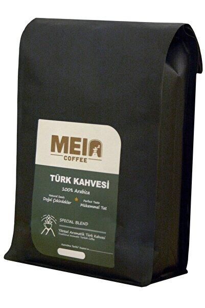 MEIA Kahve Orta Kavrulmuş- Türk Kahvesi 1000gr - Bol Köpüklü - Taze Öğütülmüş Yumuşak Içim (ÇEKİLMİŞ KAHVE)
