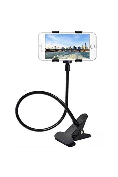 ModaCar Siyah Akrobat Sıkıştırılarak Takılan Cep Telefonu Tablet Tutucu 427816