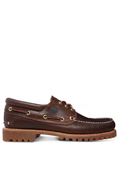 Timberland Authentic 3-eye Kahverengi Klasik Erkek Tekne Ayakkabısı