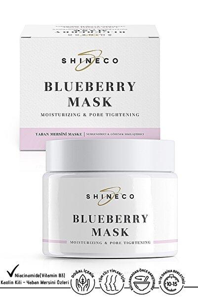 Shineco Yaban Mersini Maske 50 ml - Nemlendirme & Gözenek Sıkılaştırıcı
