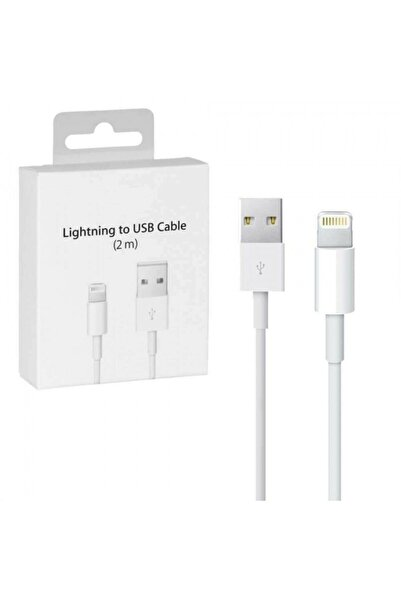 Bestshop Apple Iphone Uyumlu 2 Metre Şarj Kablosu Usb Lightning