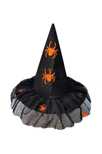 KOSTÜMCE Cadı Şapkası Halloween Çocuk