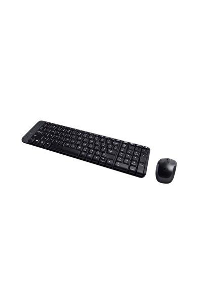 logitech Mk220 Siyah Kablosuz Mouse Ve Klavye Set 920-003163