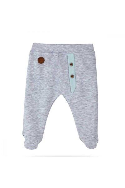 Bibaby Organik Pantolon Patikli Clever Boy - Nil