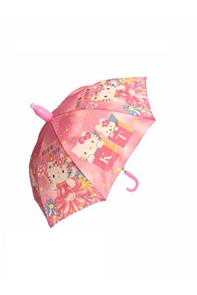 Mom & Kids Kız Çocuk Hello Kity Kedi Şemsiye