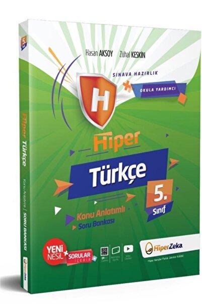 Hiper 5. Sınıf Türkçe Konu Anlatımlı Soru Bankası Zeka Yayınları