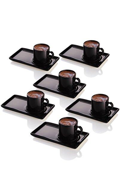 Queen's Kitchen 6 Kişilik Ikramlıklı Türk Kahvesi Takımı