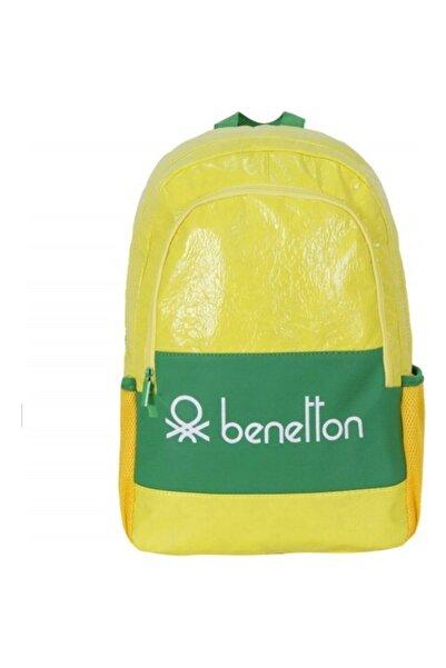 United Colors of Benetton Sırt Çantası 70147 Sarı