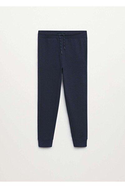 MANGO Kids Jogger Tarz Pamuklu Pantolon