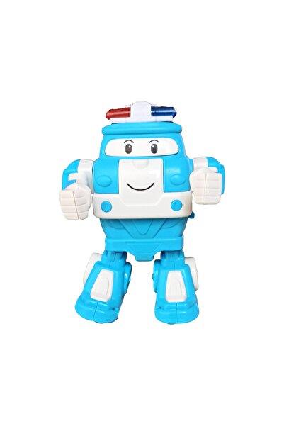 PopŞeker Robot Trenler Dans Eden Kay Müzikli Işıklı Robot Trenler Dansçı Kay