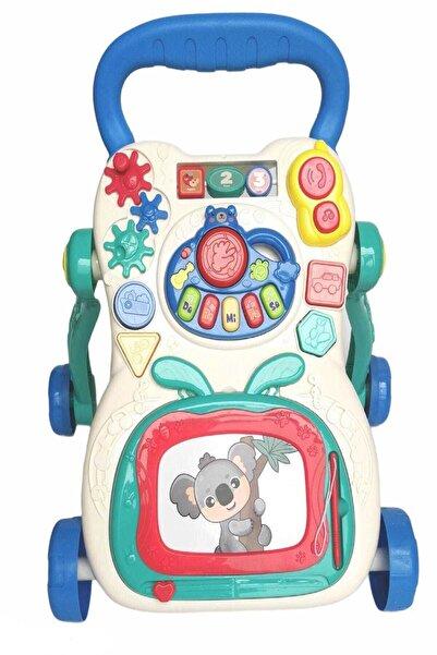 BabyLondy Çok Fonksiyonlu Bebek Yürüteci Müzikli Eğitici Set Yürüteç Baby Walker