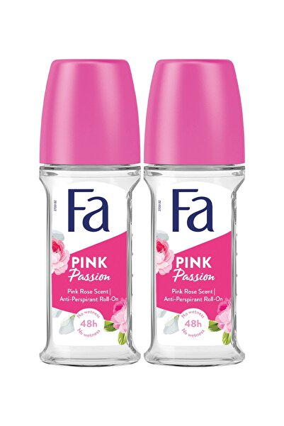 Fa Roll-on Pink Passion Tr 50 Ml X 2 Adet