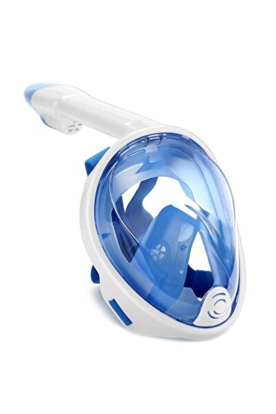 BERMUDA Full Face Snorkel Tam Yüz Dalış Maskesi Maske Set S-m - 7260
