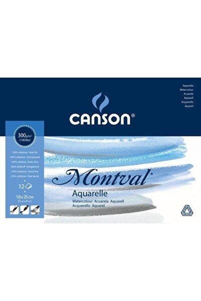 Canson Montval Suluboya Blok 300 gr 18x25 cm 12 Sayfa
