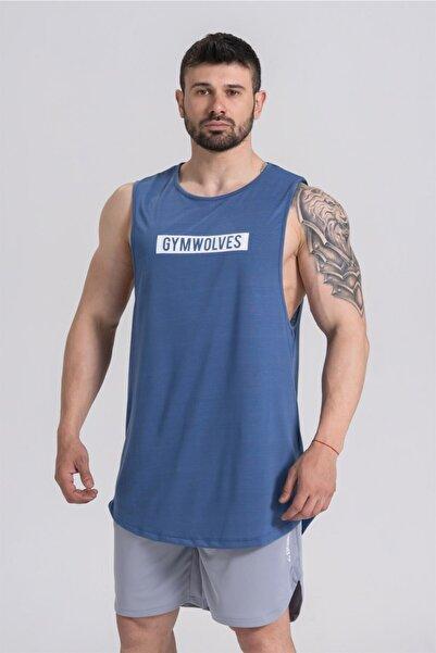 Gymwolves Erkek Kolsuz T-shirt | Erkek Spor T-shirt | Workout Tanktop |