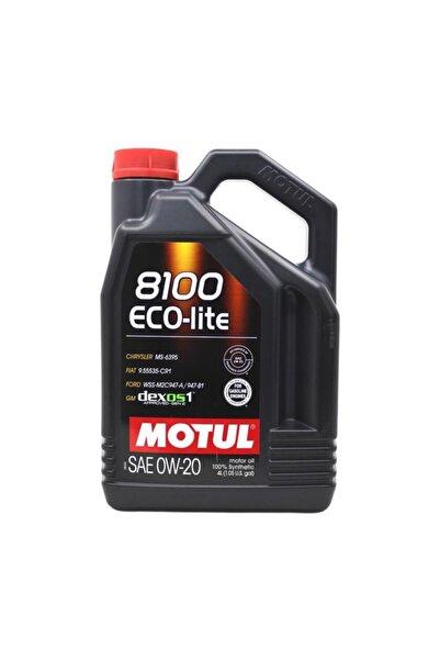 Motul Eco Lite Sae 0w-20 4 Litre 8100