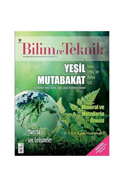 Tübitak Yayınları Bilim Ve Teknik Temmuz 2021
