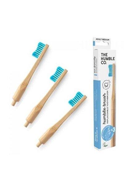 Humble Brush Değiştirilebilir Başlıklı Diş Fırçası - Mavi