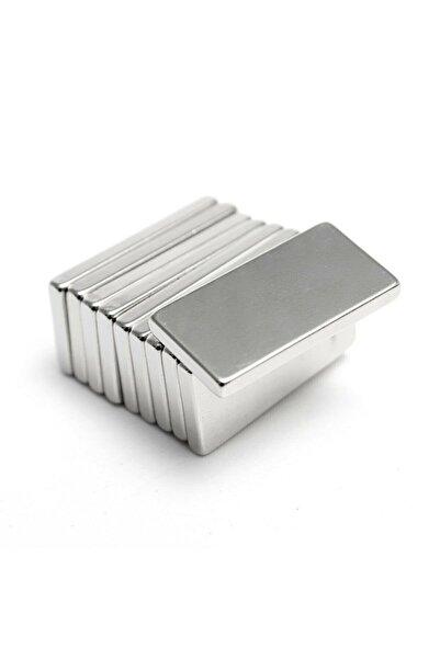 Hdg Neodyum Mıknatıs Dikdörtgen 20x10x2 Mm - 5 Adet