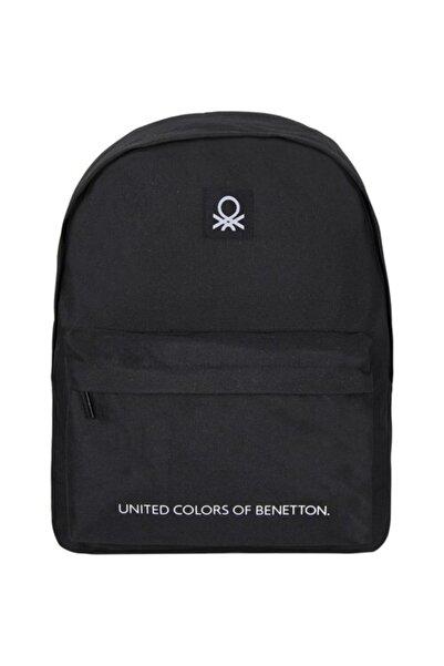 United Colors of Benetton Casual Sırt Çantası 70685 Siyah