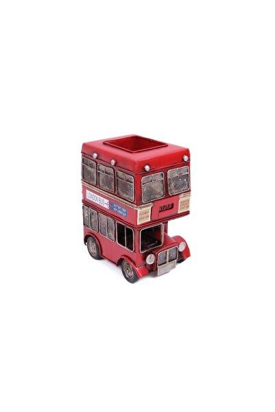 Limopa El Yapımı Londra Otobüs Kalemlik