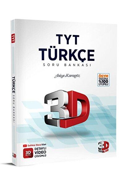 Çözüm Yayınları Tyt 3d Türkçe Sb | Asiye Karagöz |