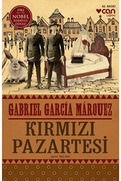 Can Yayınları Kırmızı Pazartesi - Gabriel Garcia Marquez