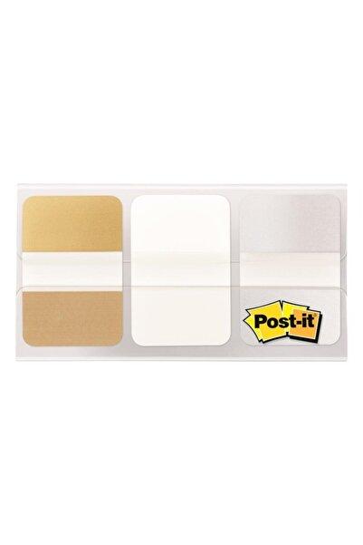 Post-it Yapışkanlı Index (ayraç) - Işaret Bandı 25,4x38mm Metalik Renkler 36 Yaprak 684metal