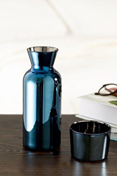 Jade Cam Başucu Sürahi 700 ml Mavi