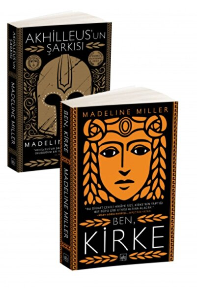 İthaki Yayınları Ben, Kirke + Akhilleus'un Şarkısı (2 Kitap)