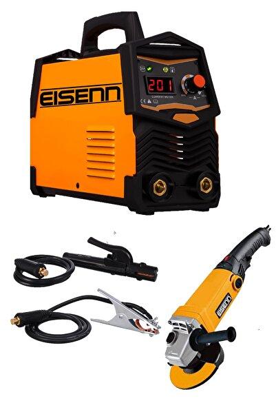 Eisenn Germany Technology Super Ultrasonıc 201 Amp Dijital Göstergeli Invertör Kaynak Makinası Hediyeli