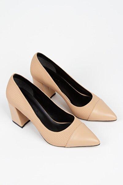 Alessia Shoes Özel Üretim Baskı Detay Kadın Stiletto