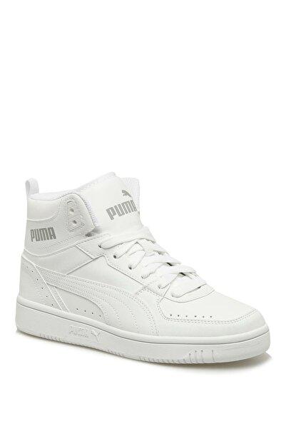 Puma Kadın Beyaz Rebound Joy Jr Basket Ayakkabısı 37468707/renkli/38,5 Numara
