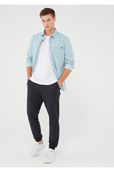 Mavi Beli Lastikli Lacivert Pantolon 000178-34319