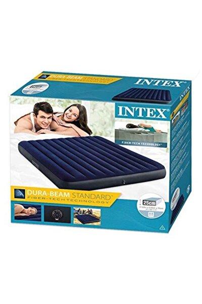 Intex 64755 3 Kişilik Şişme Yatak+68612 Pompa