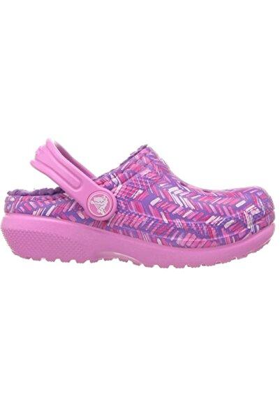 Crocs Pembe Unisex Çocuk Içi Kürklü Sandalet