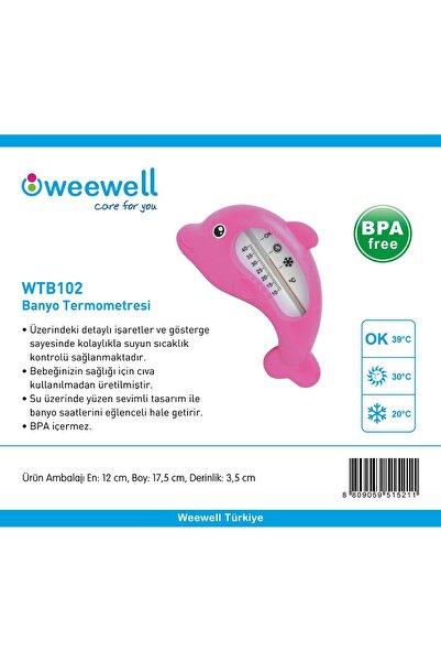 WEEWELL Banyo Termometresi Pembe-w02-wtb102