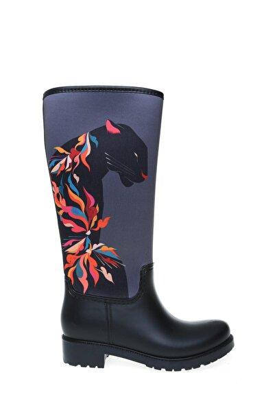 T-Box Yağmur Çizmesi, 40, Siyah