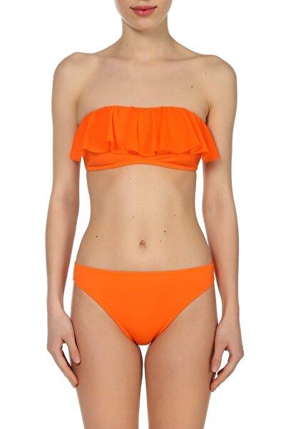 Zeki Triko Kadın Oranj Bikini Takımı ZB.1792-19