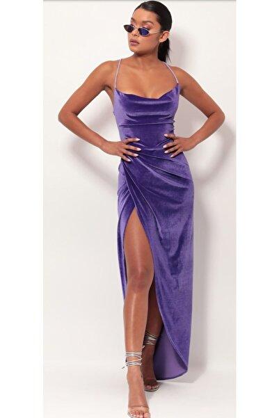 hilaltrendd Hilaltrend Kadife Elbise
