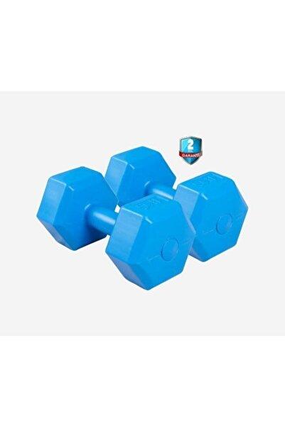 Dynamic Vınyl Dumbbell 4kg*2 Dambıl Set Mavi