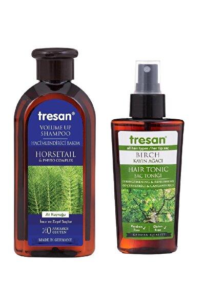 Tresan At Kuyruğu Hacimlendirici Bakım Şampuanı 300 ml + K.ağacı Özlü Saç Toniği 125 ml