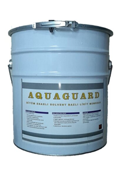 AQUAGUARD Temel, Çatı, Teras Ve Balkon Su Izolasyonunda Kullanılabilir Sıvı Likit Membran