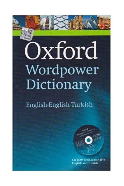Oxford Yayınları Oxford Wordpower Dictionary (ENGLİSH-ENGLİSH-TURKİSH)