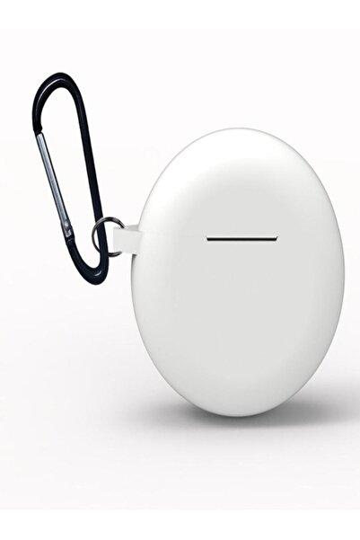 Tor Store Huawei Freebuds 3 Bluetooth Kulaklık Için Silikon Kılıf Kancalı