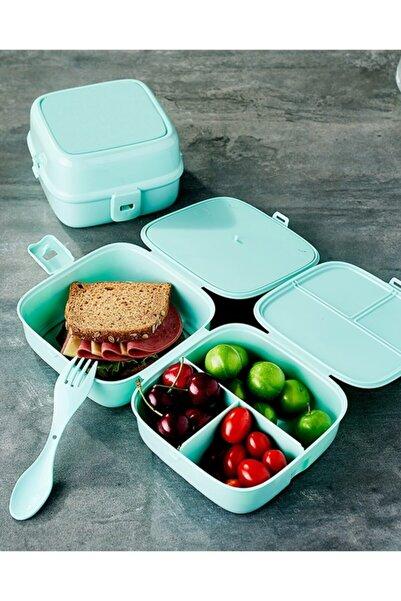 Eynel Bölmeli Beslenme Kutusu, Çocuk Kahvaltı Saklama Kabı, Öğrenci Okul Piknik Yemek Koyma Çantası