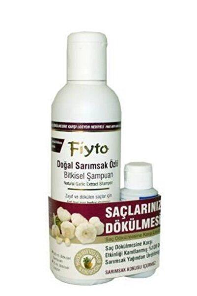 Fiyto Sarımsak Özlü Dökülme Karşıtı Şampuan 500 ml Serum Hediyeli