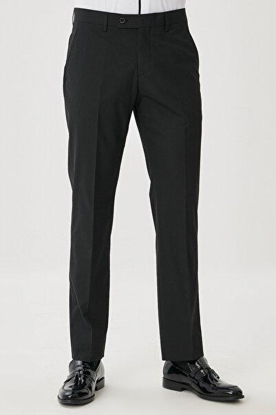 ALTINYILDIZ CLASSICS Erkek Siyah Regular Fit Klasik Pantolon